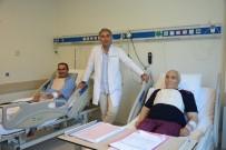 KALP AMELİYATI - Baba Ve Oğlu Aynı Gün Hastaneye Yattı, Ameliyat Oldu Ve Aynı Gün Taburcu Edildi
