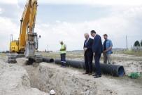 İMAM GAZALİ - Başkan Saraçoğlu, Kanalizasyon Çalışmalarını Yerinde İnceledi