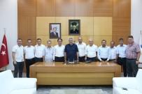 HAKEM KURULU - Başkan Toçoğlu Misafirlerini Ağırladı