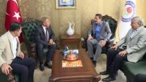 Ziya Selçuk - CHP'den Sendikalara Ziyaret