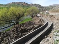Diyarbakır'da Tarımsal Sulama Kanal Çalışmaları Devam Ediyor