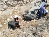 Hasankeyf Yolunda Trafik Kazası Açıklaması 4 Yaralı