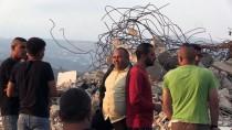 RAMALLAH - İsrail Askerleri Batı Şeria'da Filistinli Ailenin Evini Yıktı