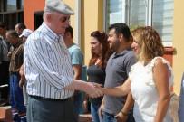 BAYRAMLAŞMA - Kazım Kurt Personelin Bayramını Kutladı