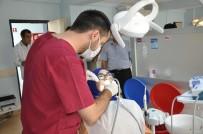 DİŞ TEDAVİSİ - Kızıltepe Ağız Ve Diş Sağlığı Merkezi'ne Bölge İlçelerinden Yoğun İlgi