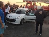 (Özel) Karadeniz Sahil Yolu'nda Trafik Kazası Açıklaması 2 Ölü, 6 Yaralı