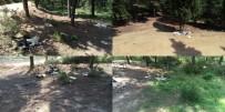 ORMANA - Piknikçiler Aydos Ormanını Çöplüğe Çevirdi