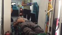 KUVEYT - Takla Atan Aracın Sürücüsü Yaralandı