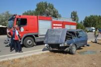 Tokat'ta Otomobiller Çarpıştı Açıklaması 1 Ölü, 8 Yaralı