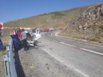 Ardahan'da Trafik Kazası Açıklaması 4 Yaralı