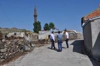 Arpaçay'da Köy İçi Yollar Kilit Parke Oluyor