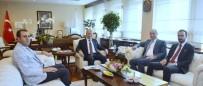Başkan Bedirhanoğlu, Ulaştırma Ve Altyapı Bakanı Turhan İle Bir Araya Geldi