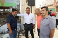 MIMARSINAN - Başkan Köşker, Vatandaşlarla Buluştu