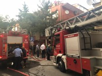 GÖRGÜ TANIĞI - Başkent'te Yangın Ve Patlama Paniği