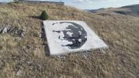 PORTRE - Dev Atatürk Portresini Şenlikle Açtılar
