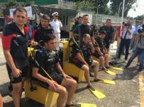 BEDENSEL ENGELLİ - Engelliler, SAS Komandolarıyla Zafer Dalışı Yaptı