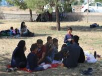 KAÇAK YOLCU - Göçmenleri İstanbul Ve Ankara Diye Diyarbakır'a Getirdiler