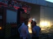 İplik Fabrikasında Yangın