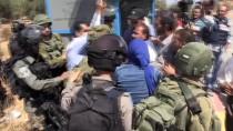 RAMALLAH - İsrail Askerlerinden Köy Sakinlerine Müdahale