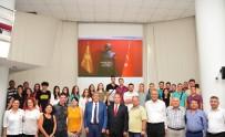 MEHMET ALI ÇALKAYA - Makedonya Atatürkçü Derneği'nin Gençlerinden Başkan Çalkaya'ya Ziyaret