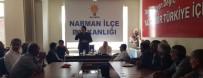 İBRAHIM AYDEMIR - Milletvekili Aydemir'den Narman Buluşması