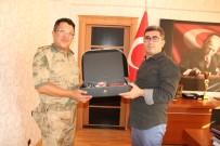 MEHMET NURİ ÇETİN - Muş İl Jandarma Komutanı Baykal'dan Varto Kaymakamı Çetin'e Ziyaret