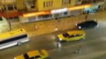 TAKSİ ŞOFÖRÜ - Taksi şoförüne sokak ortasında dayak