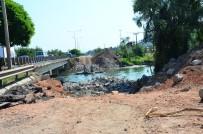 YENİ KÖPRÜ - Selin Yıktığı Köprüde Fore Kazık Çalışmaları Başladı