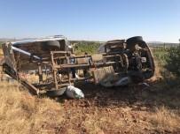 Tarım İşçilerini Taşıyan Kamyonet Takla Attı Açıklaması 1 Ölü, 4 Yaralı