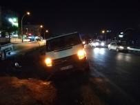 ARBEDE - Yoldan Çıkan Alkollü Sürücü, Polis Ekiplerine Zor Anlar Yaşattı