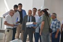 HASAN KARAHAN - 7 Bin 200 Metrekarelik Çok Amaçlı Antrenman Salonu'nda Çalışmalar Sürüyor