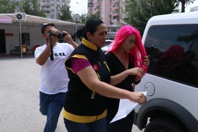Adana'nın 'Pembe Panter'i yakalandı!
