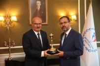 ADEM ALI YıLMAZ - ATO Yönetiminden Gençlik Ve Spor Bakanı Kasapoğlu'na Ziyaret