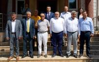 HALUK ŞIMŞEK - ATSO Yönetiminden Serik Ve Manavgat'ta Bölgesel İşbirliği Çalışmaları