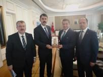MEHMET HAN - Başkan Bakıcı'nın Ankara Ziyaretleri