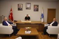 MAHMUT ARSLAN - Başkan Toçoğlu, HAK-İŞ Genel Başkanı Arslan'ı Ağırladı