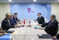 VİZE SERBESTİSİ - Çavuşoğlu'nun Singapur'da İkili Temasları Sürüyor