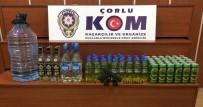 KAÇAK İÇKİ - Çorlu'da Kaçak İçki Ele Geçirildi