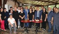 BEYAZ AY DERNEĞI - Down Sendromlu Gençlerin Çalıştığı Kafe 1. Yılını Kutladı