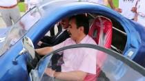 TEST SÜRÜŞÜ - Elektrikli Otomobil 'Ayvaz' Yarışa Hazır