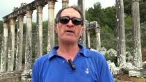 ELEKTRİK HATTI - Euromos'ta Roma Ve Helenistik Döneme Ait Mezarlar Bulundu