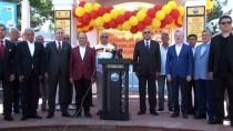 GALATASARAY BAŞKANı - Galatasaray Bayrağı Büyükçemece Şampiyonlar Anıtı'na Çekildi