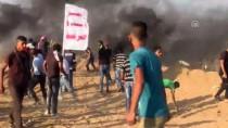 İNSANİ KRİZ - Gazze Sınırındaki Gösterilerde 25 Filistinli Yaralandı