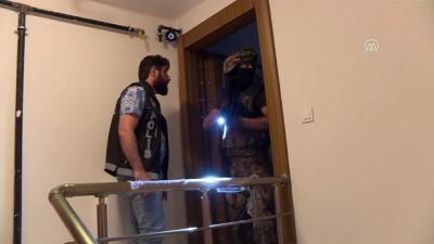 İstanbul'un 7 ilçesinde uyuşturucu operasyonu