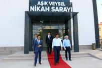 NİKAH SARAYI - Keçiören'de Yeni Nikah Sarayı Tamamlandı