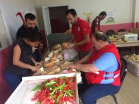 GIDA YARDIMI - Kızılay Ve AFAD'dan Mevsimlik İşçilere Yardım
