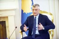 KOSOVA - Kosova Cumhurbaşkanı Thaçi, Türk Bayrağının Yakılmasını Kınadı