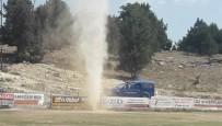 ESENPıNAR - Mersin'de Maç Ortasında Hortum Çıktı