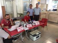 KAN BAĞıŞı - PTT'den Kızılay'a Kan Bağışı