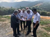 AHMET ÇıNAR - Vali Çınar, Köroğlu Ve Sapça Güzergahında İncelemelerde Bulundu